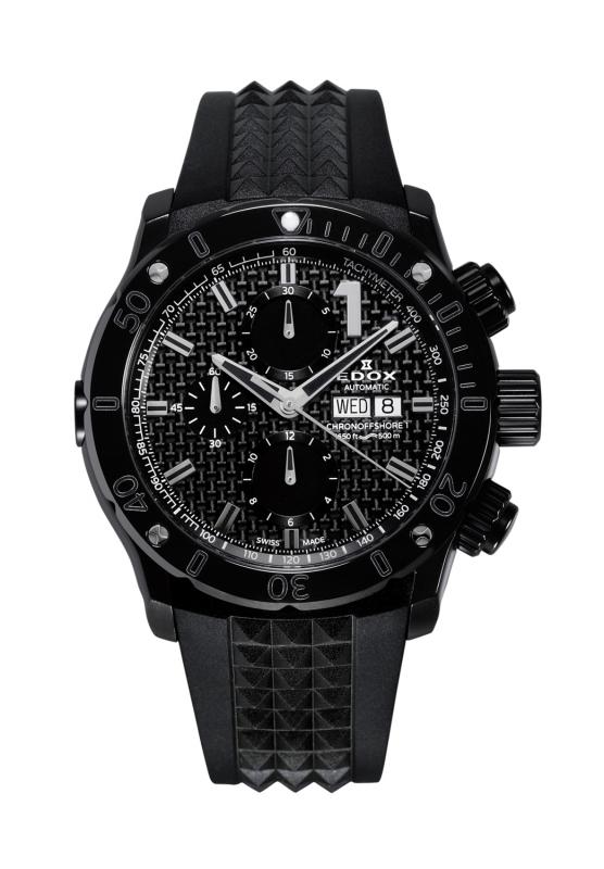正規品 EDOX エドックス 01122-37N1-NIN1-S クロノオフショア1 クロノグラフ オートマチック 腕時計