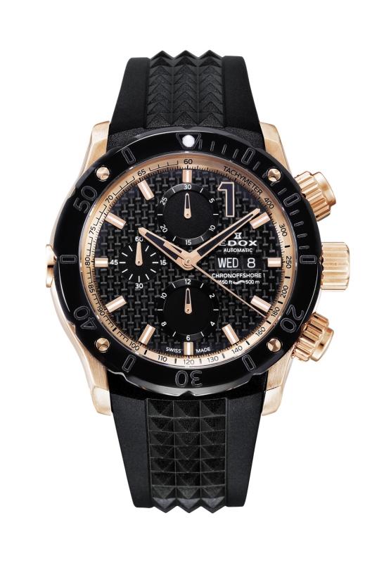 正規品 EDOX エドックス 01122-37R-NIR1-S クロノオフショア1 クロノグラフ オートマチック 腕時計