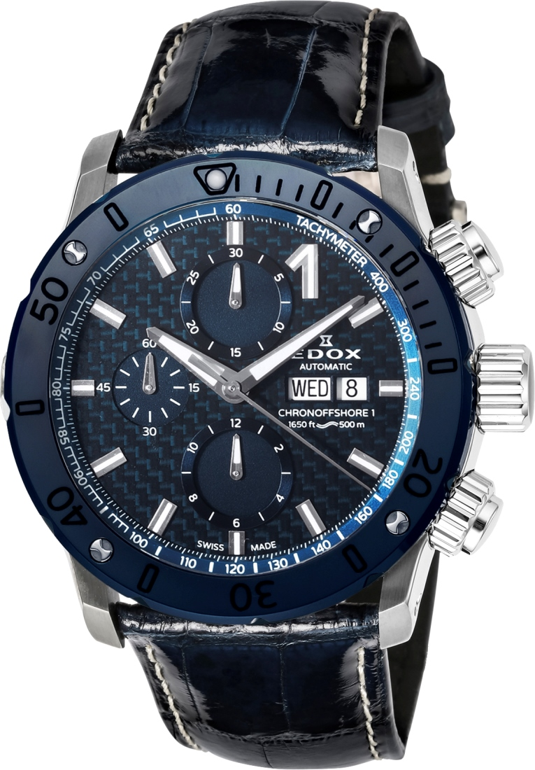 エドックス EDOX 01122-3BU3-BUIN3-L クロノオフショア1 クロノグラフ オートマチック 正規品 腕時計