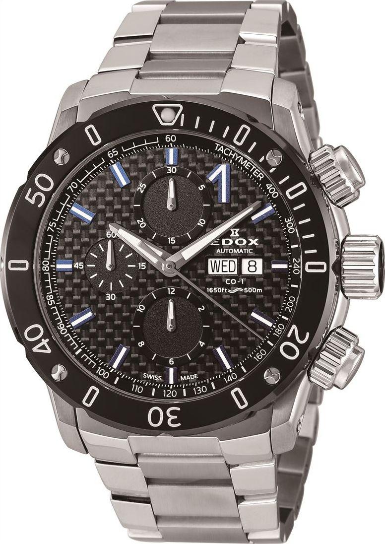 エドックス EDOX 01122-3M-NIBU6 クロノオフショア1 クロノグラフ オートマチック 正規品 腕時計