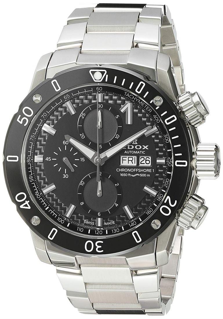 正規品 EDOX エドックス 01122-3M-NIN クロノオフショア1 クロノグラフ オートマチック 腕時計