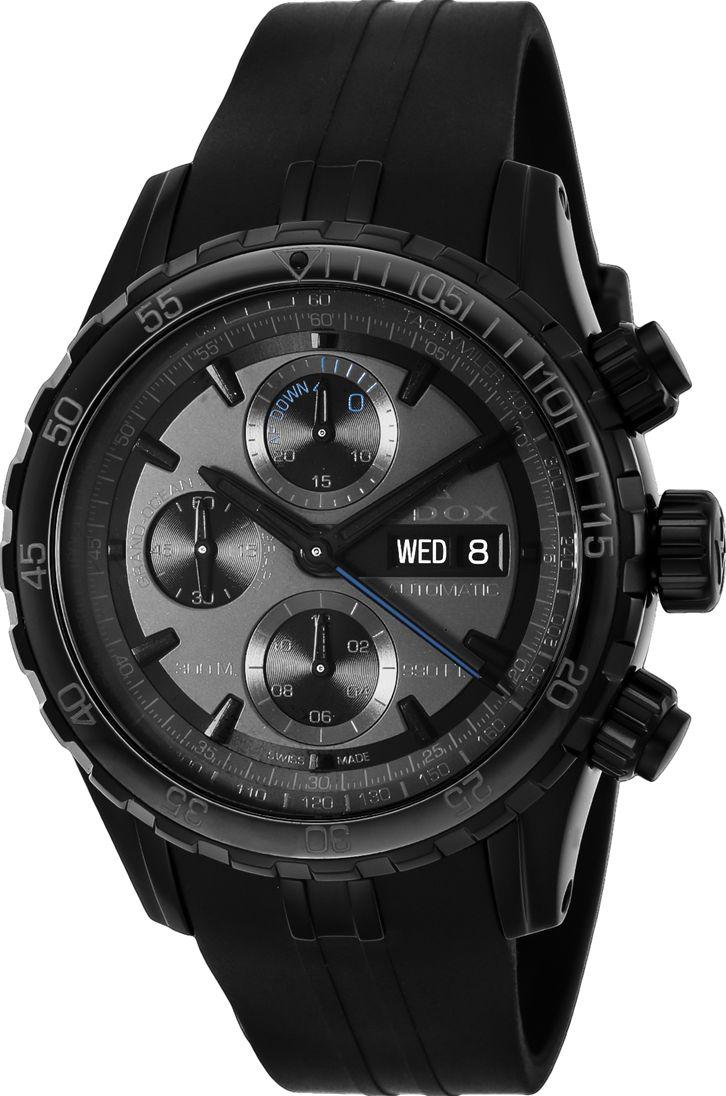 エドックス EDOX 01123-37N3-NIG3 グランドオーシャン クロノグラフ オートマチック 10周年日本限定モデル 限定150本 正規品 腕時計
