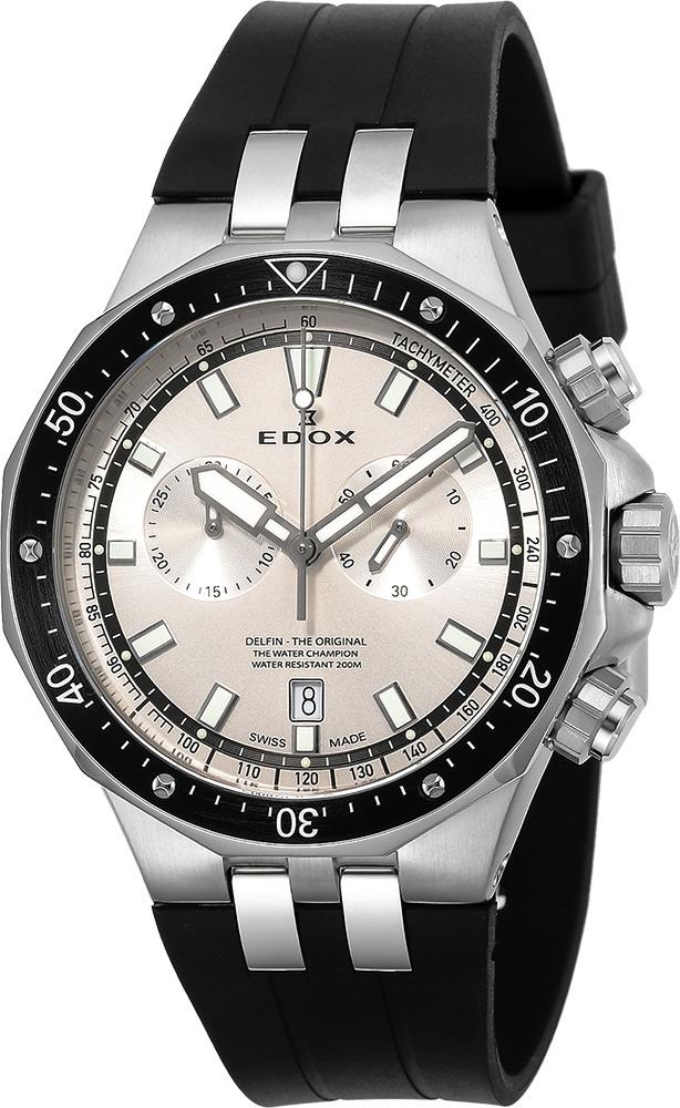 エドックス EDOX 10109-3CA-AIN デルフィン オリジナル クォーツ クロノグラフ 正規品 腕時計