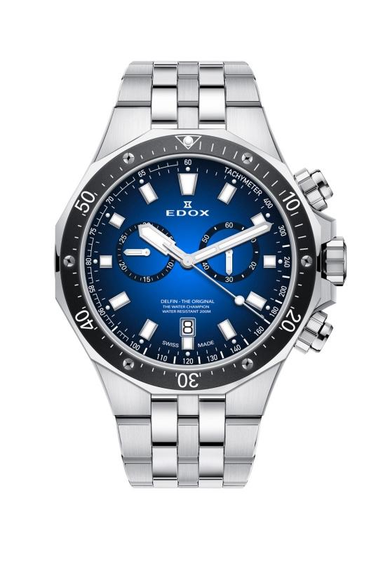 エドックス EDOX 10109-3M-BUIN デルフィン オリジナル クォーツ クロノグラフ 正規品 腕時計