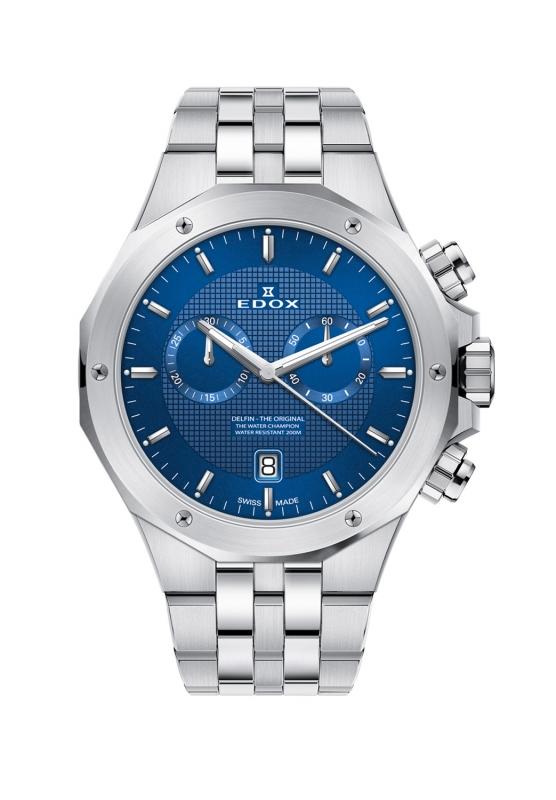 エドックス EDOX 10110-3M-BUIN デルフィン オリジナル クォーツ クロノグラフ 正規品 腕時計
