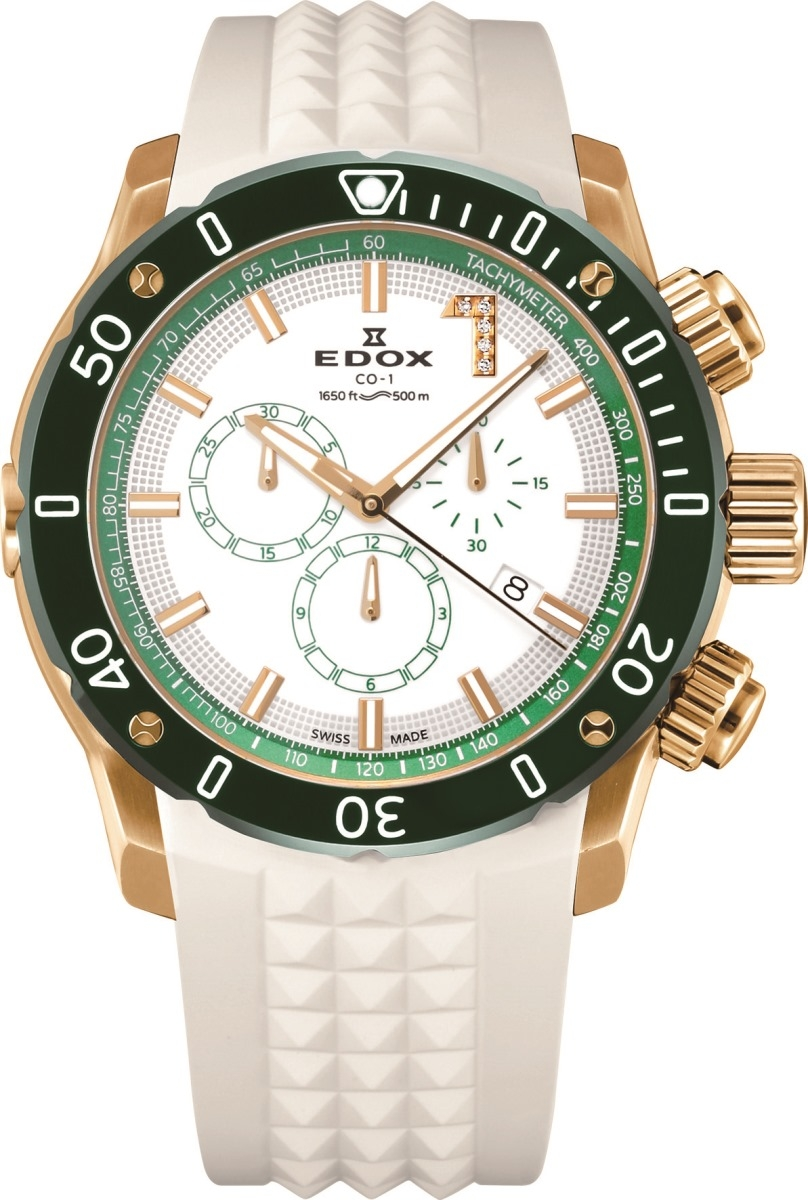 エドックス EDOX 10221-37JV5-BIDV8 クロノオフショア1 クロノグラフ クォーツ 世界限定300本 正規品 腕時計