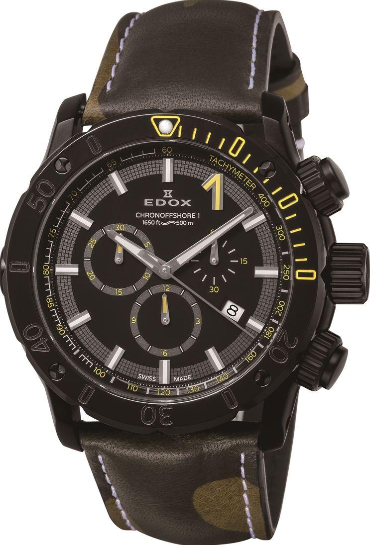 エドックス EDOX 10221-37N-NINJ-C クロノオフショア1 クロノグラフ クォーツ 正規品 腕時計
