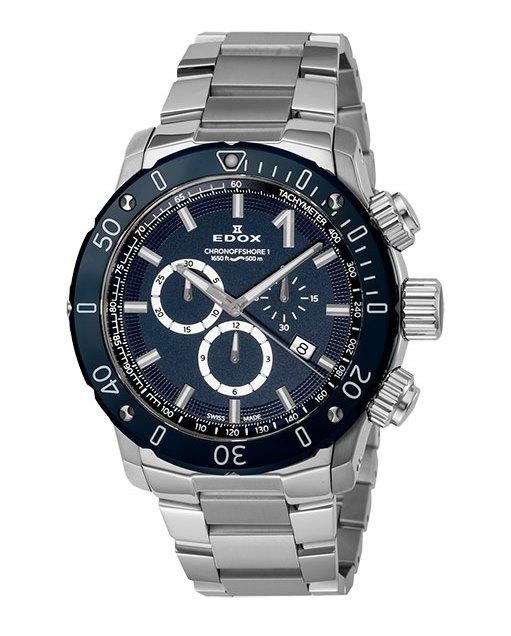 エドックス EDOX 10221-3BU3M-BUIN3 クロノオフショア1 クロノグラフ クォーツ 正規品 腕時計
