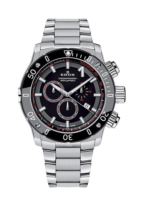 エドックス EDOX 10221-3M-NIN クロノオフショア1 クロノグラフ クォーツ 正規品 腕時計