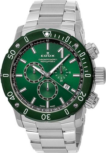 正規品 EDOX エドックス 10221-3VM5-VIN5 クロノオフショア1 クロノグラフ クォーツ 腕時計