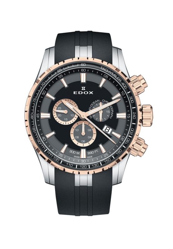 エドックス EDOX 10226-357RCA-NIR グランドオーシャン クォーツ クロノグラフ 正規品 腕時計