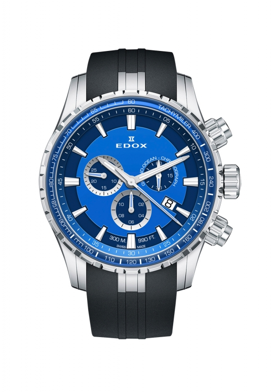 正規品 EDOX エドックス 10226-3BUCA-BUIN グランドオーシャン クォーツ クロノグラフ 腕時計