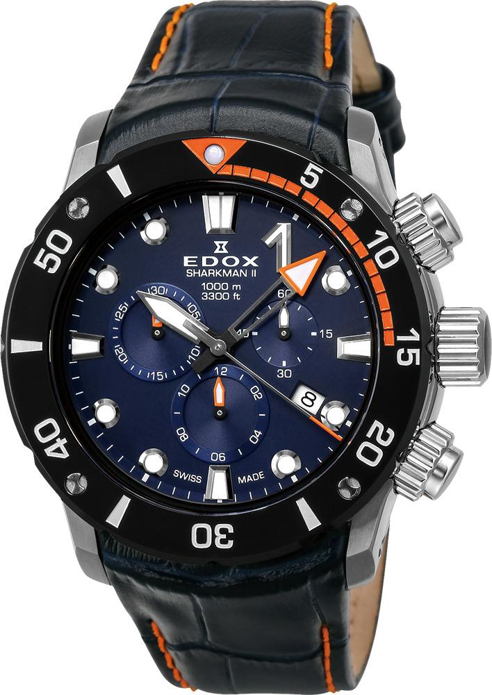 エドックス EDOX 10234-3O-BUIN クロノオフショア1 シャークマンII リミテッドエディション 世界限定300本 正規品 腕時計