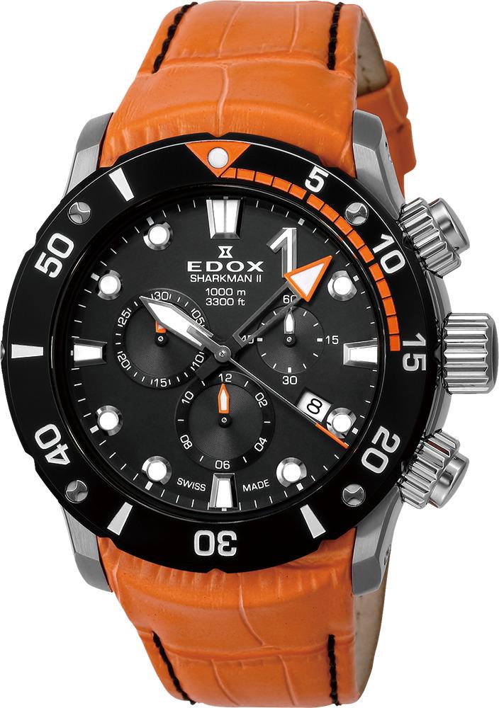 【5/26までオリジナルノベルティプレゼント】 正規品 EDOX エドックス 10234-3O-NIN クロノオフショア1 シャークマンII リミテッドエディション 世界限定300本 腕時計