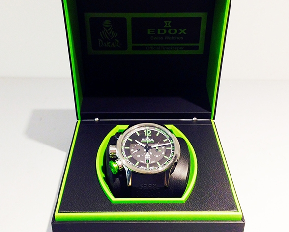 "EDOX 10303-TIN-NV ""Chronorally Chrono Dakar III Limited Edition world  limited 1000"""