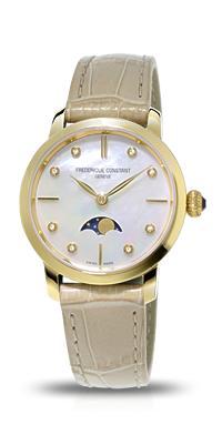 正規品 FREDERIQUE CONSTANT フレデリックコンスタント FC-206MPWD1S5 スリムライン ムーンフェイズコレクション 腕時計