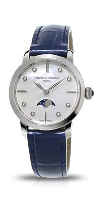 正規品 FREDERIQUE CONSTANT フレデリックコンスタント FC-206MPWD1S6 スリムライン ムーンフェイズコレクション 腕時計