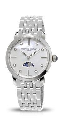 フレデリックコンスタント FREDERIQUE CONSTANT FC-206MPWD1S6B スリムライン ムーンフェイズコレクション 正規品 腕時計