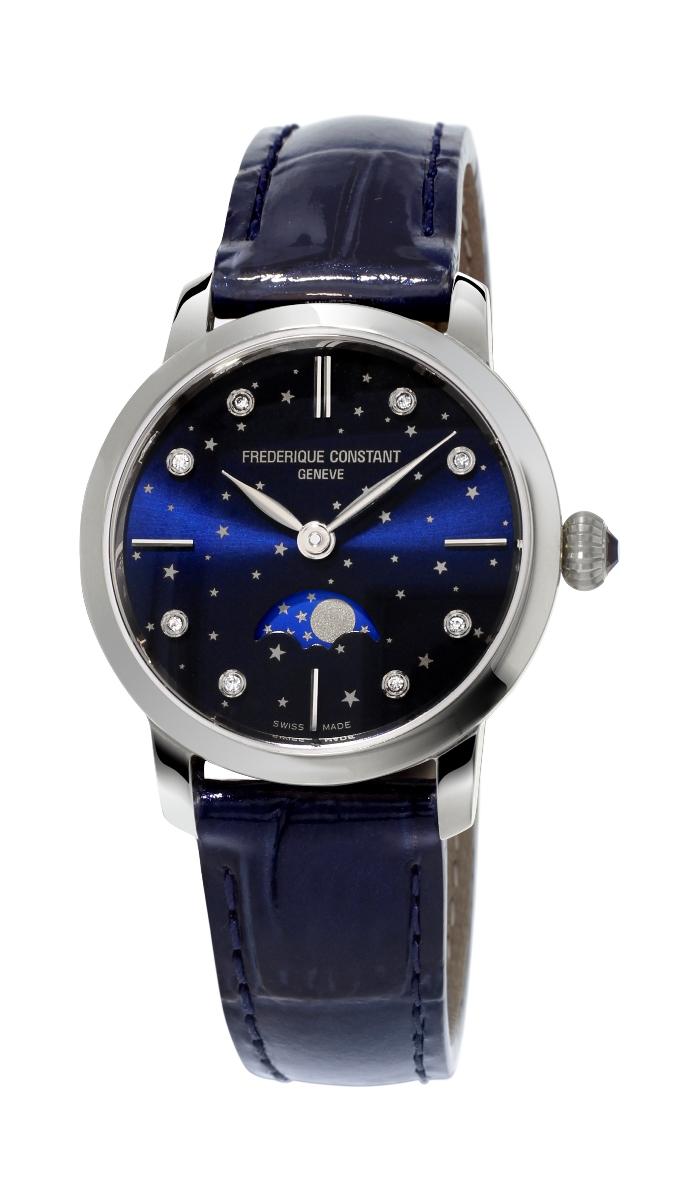 フレデリックコンスタント FREDERIQUE CONSTANT FC-206NSD1S6 スリムライン ムーンフェイズ 日本限定モデル 正規品 腕時計