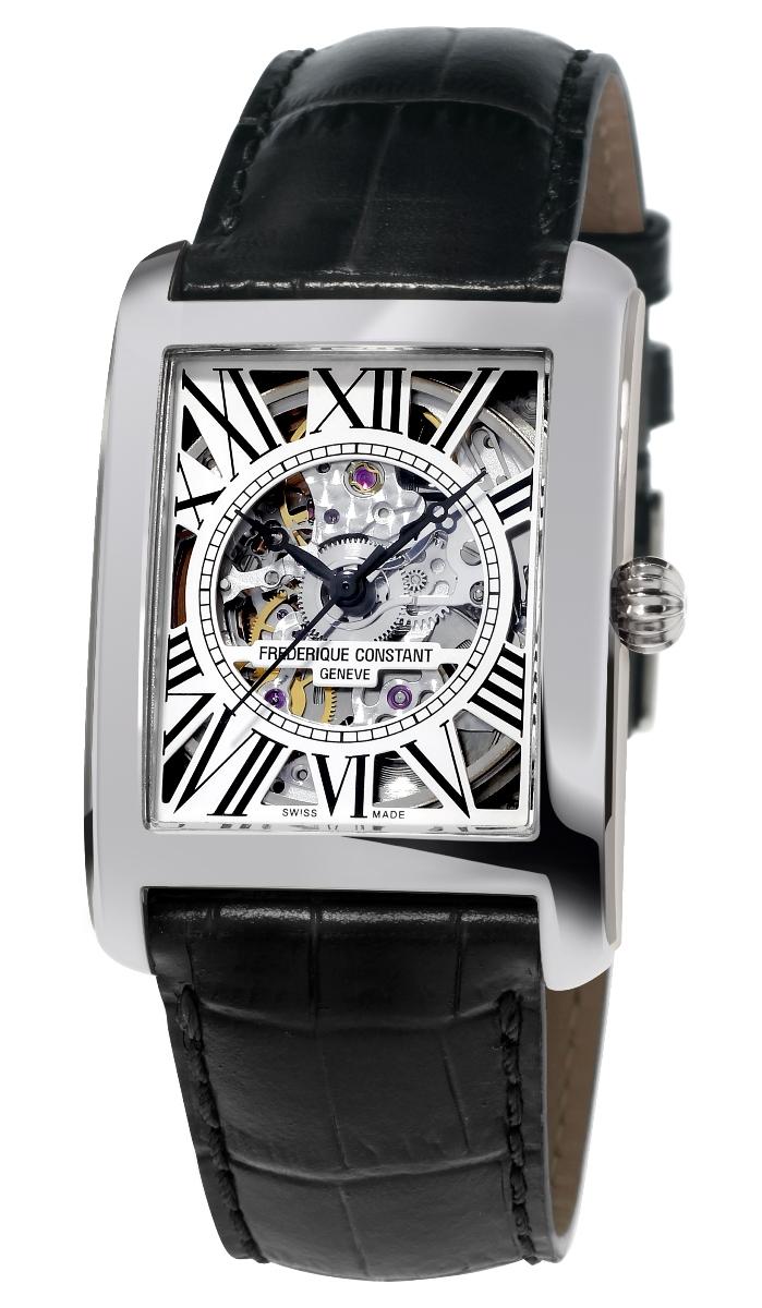 【1/14まで替えベルトプレゼント】 正規品 FREDERIQUE CONSTANT フレデリックコンスタント FC-310SKT4S36 クラシック カレ オートマチック スケルトン 日本限定モデル 腕時計