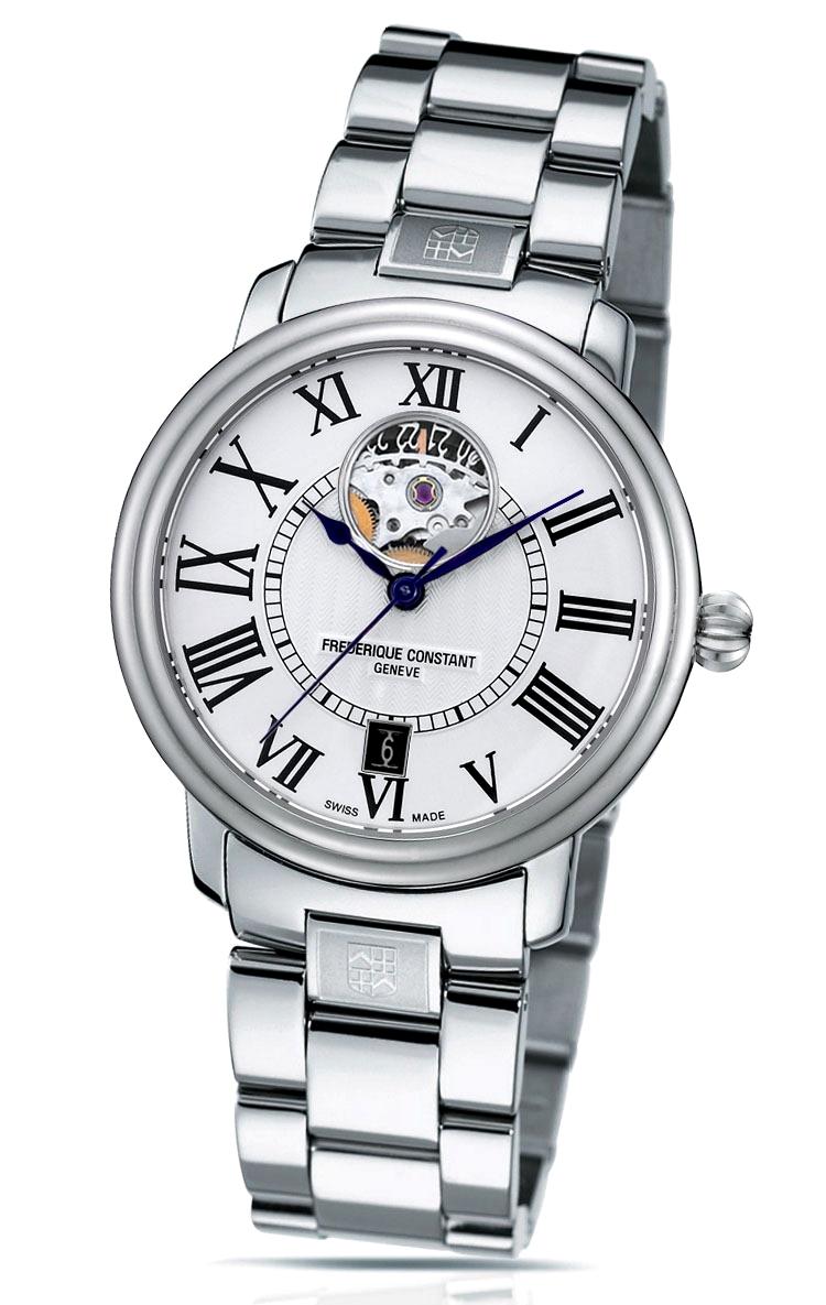フレデリックコンスタント FREDERIQUE CONSTANT FC-315MS3P6B クラシック ハートビートデイト ラウンド 正規品 腕時計