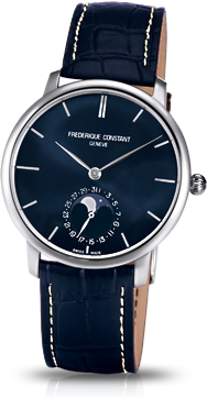 フレデリックコンスタント FREDERIQUE CONSTANT FC-705N4S6 スリムライン ムーンフェイズ マニュファクチュール 正規品 腕時計
