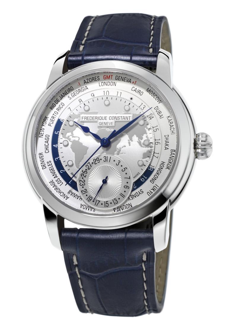 フレデリックコンスタント FREDERIQUE CONSTANT FC-718WM4H6 クラシック マニュファクチュール ワールドタイマー 正規品 腕時計