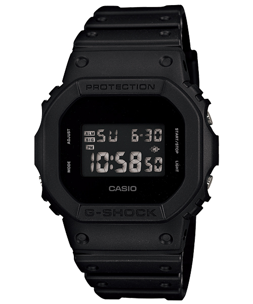 "CASIO  G-SHOCK DW-5600BB-1JF ""Solid Colors ""  fs04gm"