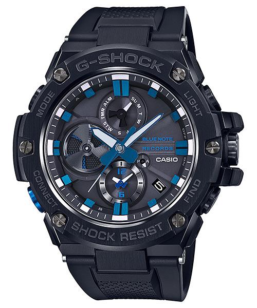 正規品 CASIO カシオ G-SHOCK Gスチール GST-B100BNR-1AJR BLUE NOTE RECORDS コラボモデル 腕時計