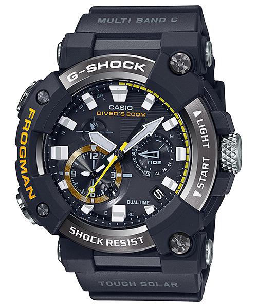 【高い素材】 G-SHOCK カシオ CASIO GWF-A1000-1AJF フロッグマン Bluetooth搭載 ソーラー電波 正規品 腕時計, ナキジンソン d88a023a