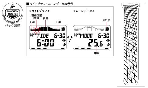 "CASIO  G-SHOCK GWX-5600-1JF ""G-LIDE"""