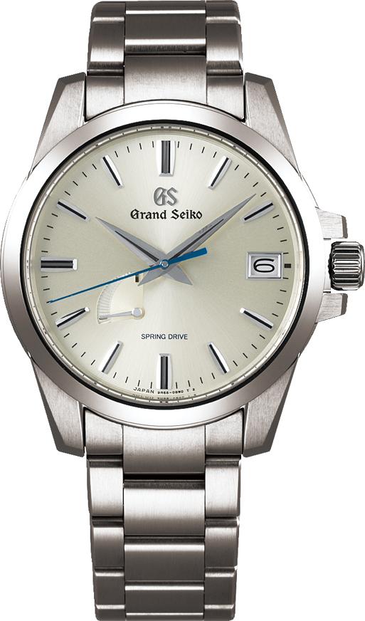 グランドセイコー Grand Seiko 正規メーカー保証3年 SBGA279 9Rスプリングドライブ ブライトチタンモデル 正規品 腕時計