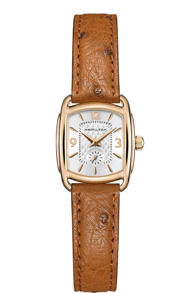 正規品 HAMILTON ハミルトン H12341555 バグリー クォーツ 腕時計