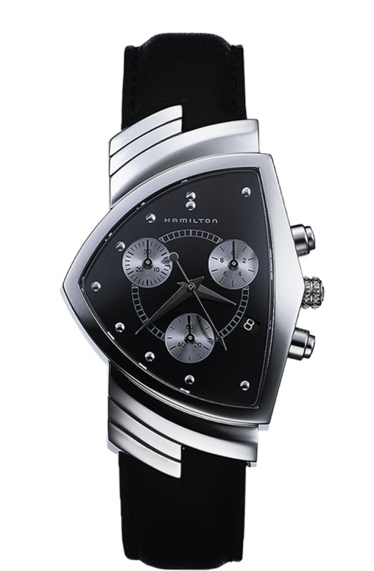 ハミルトン HAMILTON H24412732 Ventura Chrono Quartz ベンチュラ クロノ クォーツ 正規品 腕時計