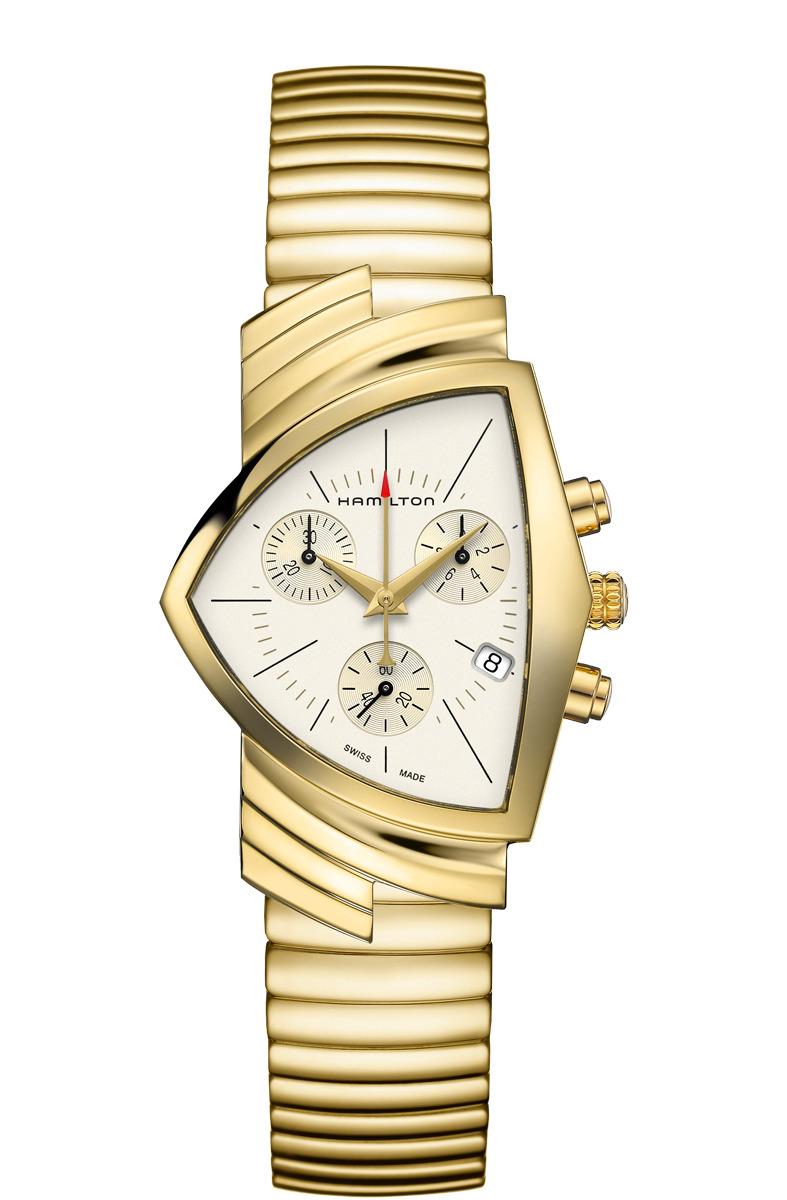ハミルトン HAMILTON H24422151 ベンチュラ クロノ クォーツ 正規品 腕時計