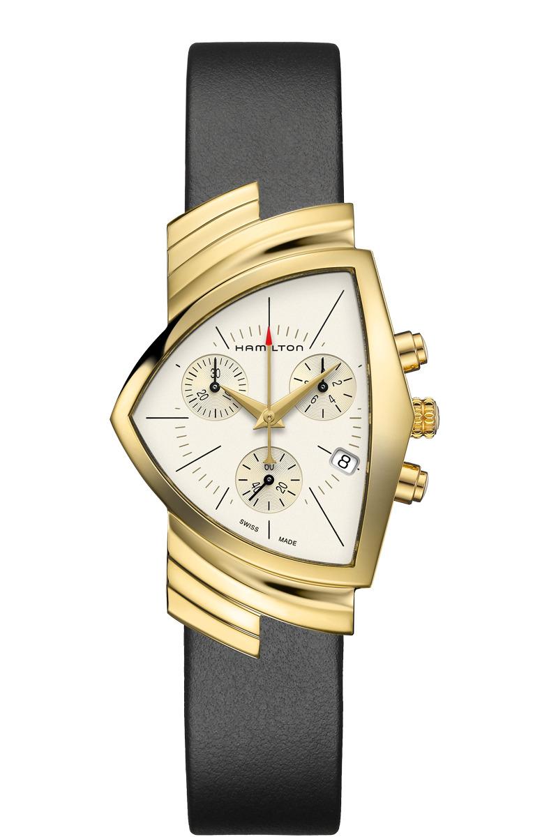 正規品 HAMILTON ハミルトン H24422751 ベンチュラ クロノ クォーツ 腕時計