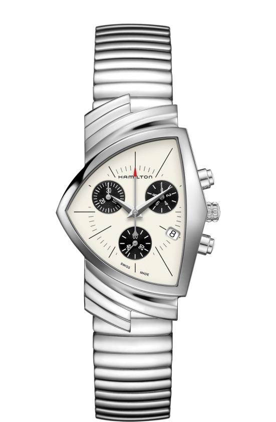 正規品 HAMILTON ハミルトン H24432151 ベンチュラ クロノ クォーツ 腕時計