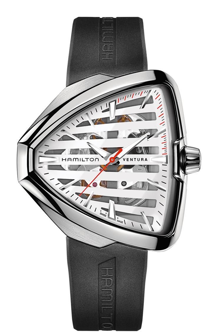 ハミルトン HAMILTON H24555381 ベンチュラ エルヴィス 80 スケルトン オート 正規品 腕時計