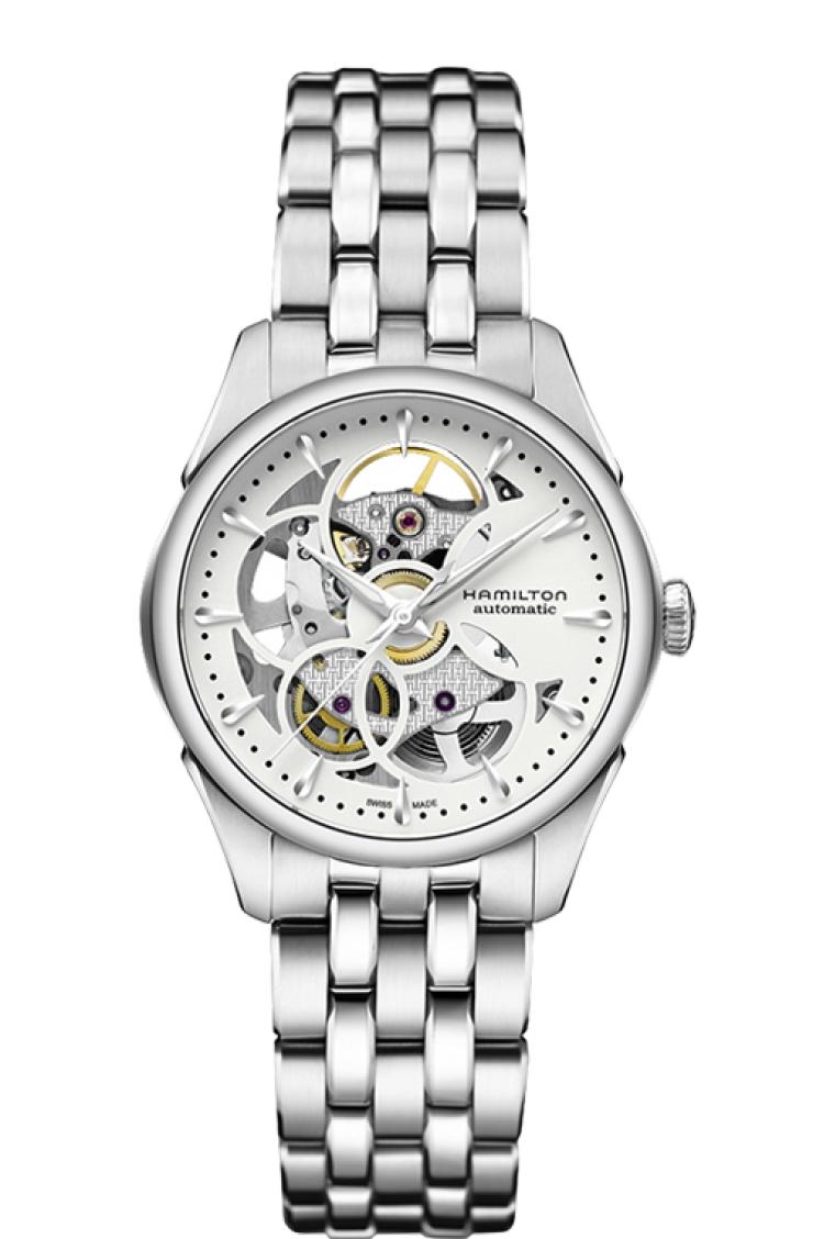 ハミルトン HAMILTON H32405111 ジャズマスター ビューマチック スケルトン レディ オート 正規品 腕時計