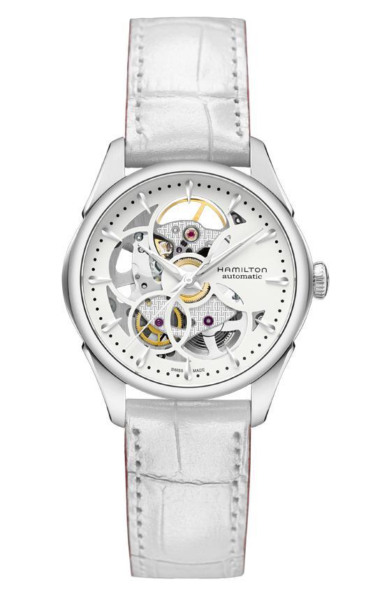 ハミルトン HAMILTON H32405811 ジャズマスター ビューマチック スケルトン レディ オート 正規品 腕時計