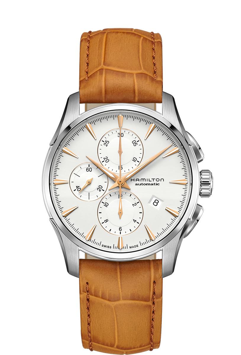 正規品 HAMILTON ハミルトン H32586511 ジャズマスター オートクロノ 腕時計