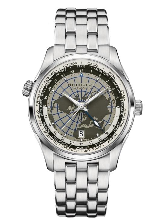 ハミルトン HAMILTON H32605181 ジャズマスター GMT オート 正規品 腕時計