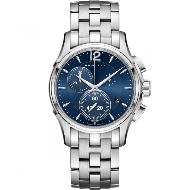 正規品 HAMILTON ハミルトン H32612141 ジャズマスター クロノ クォーツ 腕時計