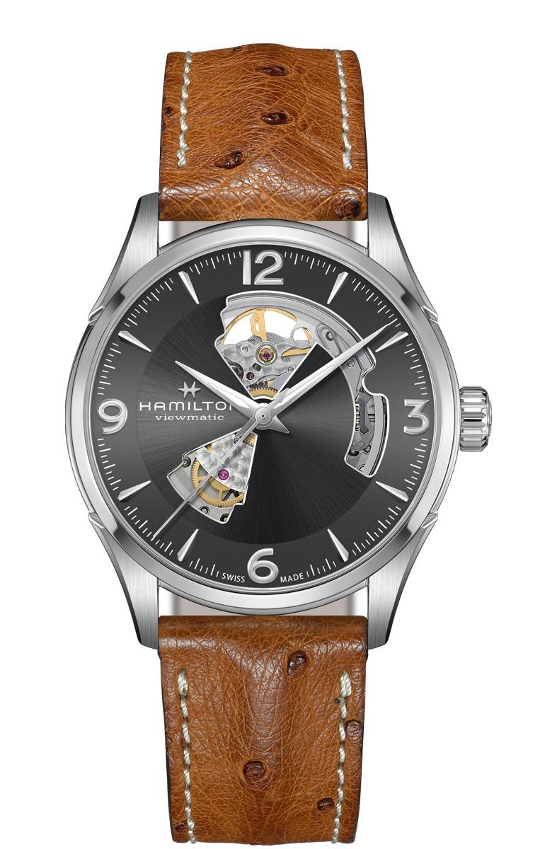※正規品 HAMILTON ハミルトン H32705581 ジャズマスター オープンハート オート 42mm 腕時計