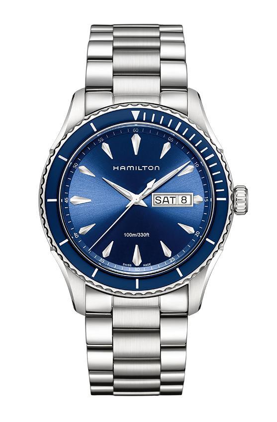 ハミルトン HAMILTON H37551141 Jazzmaster Seaview Day Date Quartz ジャズマスター シービュー デイデイト クォーツ 正規品 腕時計