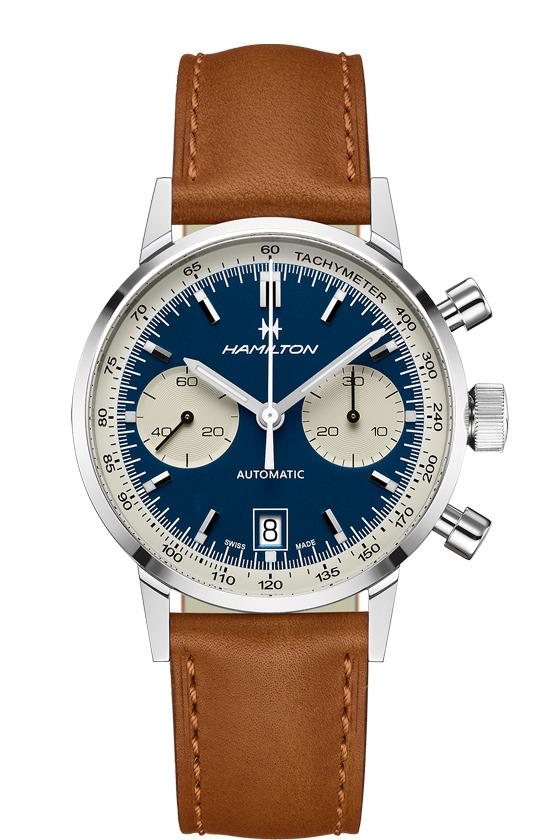 正規品 HAMILTON ハミルトン H38416541 イントラマティック オートクロノ 腕時計