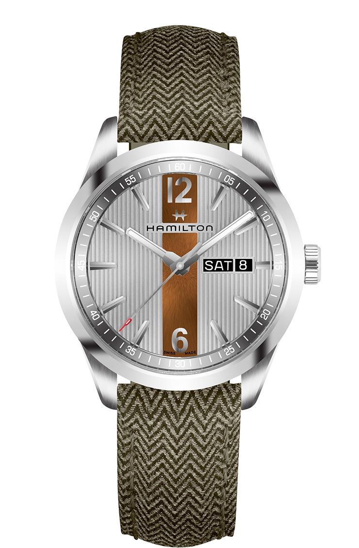 正規品 HAMILTON ハミルトン H43311985 ブロードウェイ デイデイト クォーツ 腕時計