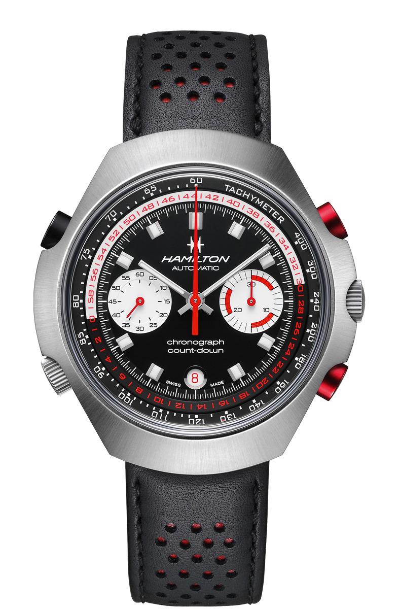 ハミルトン HAMILTON H51616731 クロノマティック50 限定モデル 限定1972本 正規品 腕時計