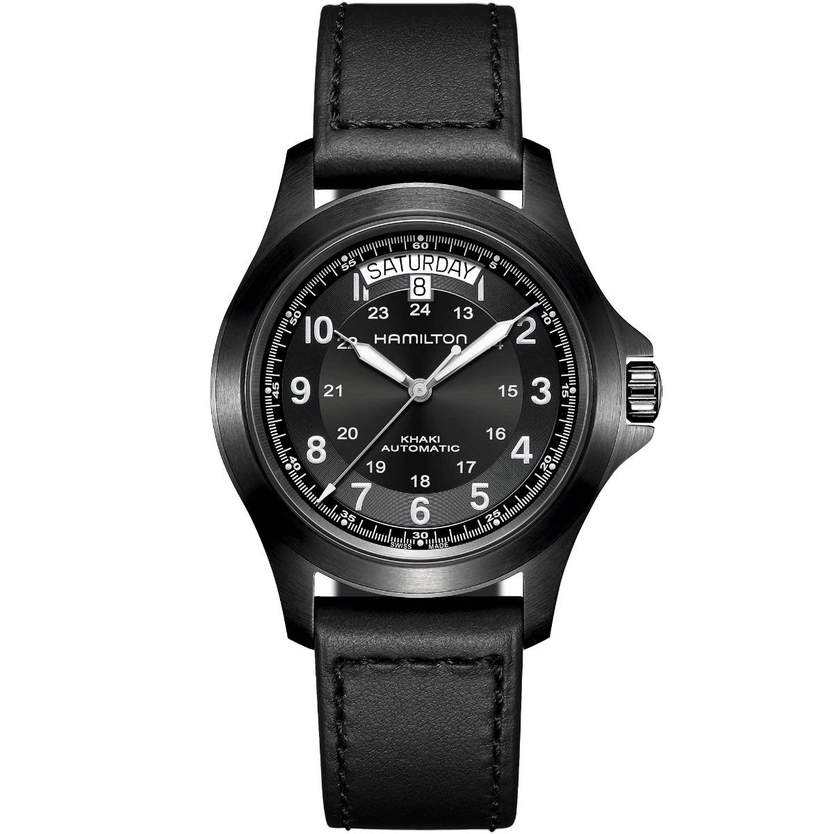 正規品 送料無料 人気ブレゼント 機械式 メンズ ハミルトン HAMILTON H64465733 カーキ フィールド 出荷 40mm 腕時計 キング オート