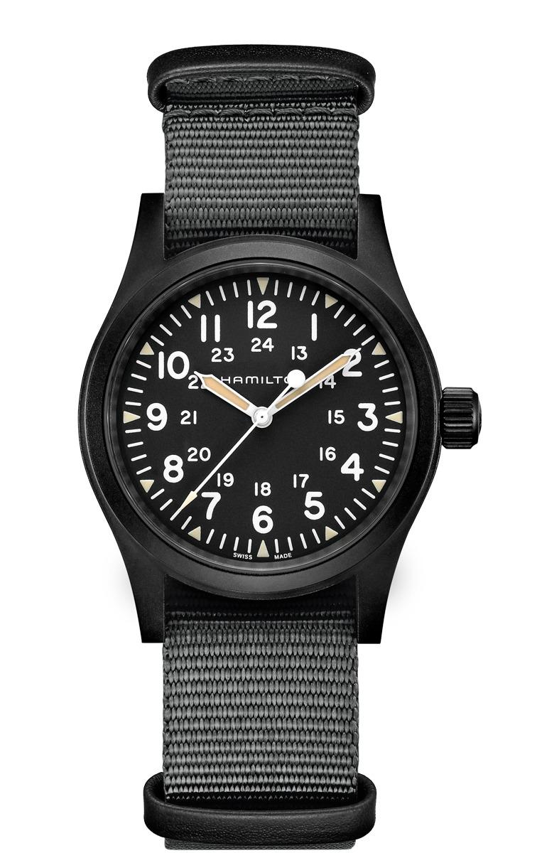 ハミルトン HAMILTON H69409930 カーキ フィールド メカニカル 38mm 80時間パワーリザーブ 正規品 腕時計